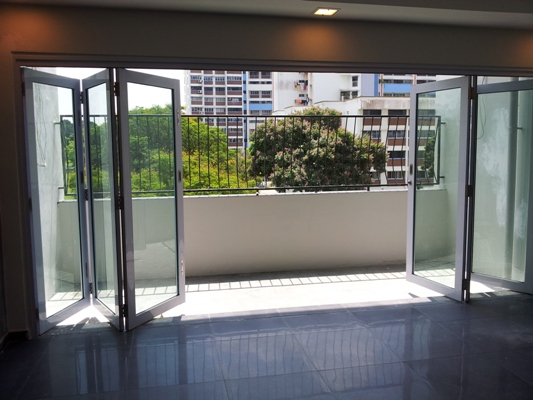 Sliding folding door window grilles singapore Folding window