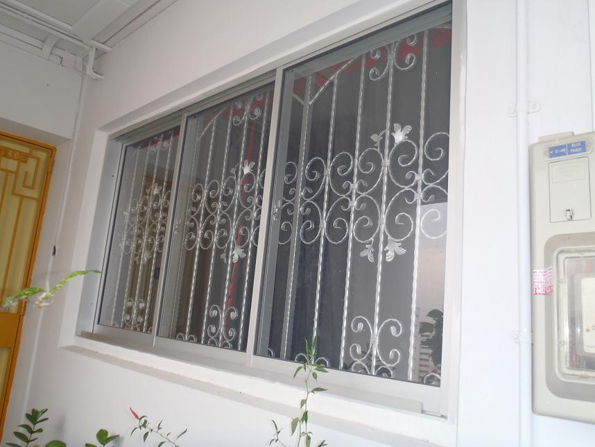 Wrought Iron Window Grill Singapore 7