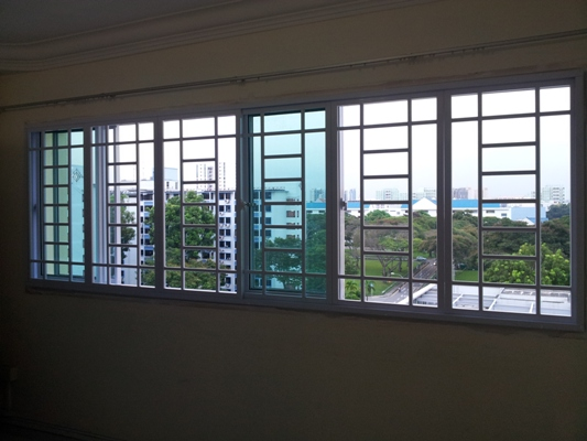 Aluminium Grille - Window & Grilles Singapore